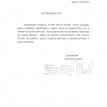 Biuro Tlumaczen KONTEKST A i Z Towarek Agnieszka Towarek